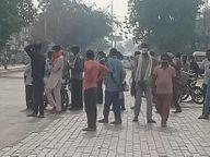 दिहाड़ी मजदूर बोले, 'नौ दिन से काम ही नहीं मिला, कैसे हो परिवार का गुजारा'|श्रीगंंगानगर,Sriganganagar - Dainik Bhaskar