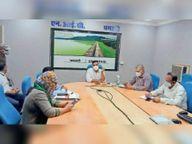 मंत्री की बैठक में महापाैर व विधायक जुडे पर निगम अध्यक्ष काे नहीं बुलाया|धमतरी,Dhamtari - Money Bhaskar