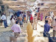 सुहेला में वैक्सीन के प्रभाव को लेकर ग्रामीणों व अफसरों में जमकर संवाद|सुहेला,Suhela - Money Bhaskar