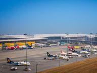 17 की रात से IGI एयरपोर्ट के टर्मिनल-2 से नहीं उड़ेंगी फ्लाइट्स, महामारी के बाद 30 हजार रेगुलर यात्री कम हुए कोरोना - वैक्सीनेशन,Coronavirus - Dainik Bhaskar