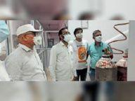42 ऑक्सीजन बेड के सेंटर में 3 डॉक्टर व 9 नर्स रहेंगे तैनात|भिलाई,Bhilai - Money Bhaskar