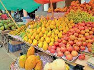विटामिन सी वाले फलों की मांग बढ़ी तो भाव हो गए दोगुने|नीमच,Neemuch - Money Bhaskar
