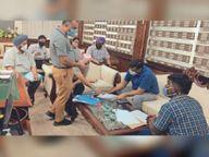 हेल्थ सचिव अमित कुमार ने बठिंडा का दौरा किया, कोरोना की स्थिति का लिया जायजा बठिंडा,Bathinda - Dainik Bhaskar