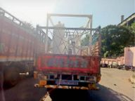 20 दिनों की कोशिशें बेकार; सिंगाजी में मशीन फेल, सारनी में प्लांट के बाहर से ही लौटाई|होशंगाबाद,Hoshangabad - Dainik Bhaskar