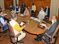 प्रदेश सरकार एक सप्ताह और बढ़ा सकती है काेराेना कर्फ्यू|शिमला,Shimla - Dainik Bhaskar