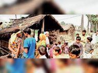 पेड़ से लटका मिला महिला का शव, पुलिस ने किया बरामद, दो माह पूर्व हुई थी शादी|समस्तीपुर,Samastipur - Dainik Bhaskar