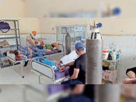40 बेड के ऑर्थो वार्ड को आइसोलेशन सेंटर बना शिफ्ट किए 36 संक्रमित, सीरियस पेशेंट्स के लिए खाली किया ट्रामा सेंटर|सिरसा,Sirsa - Dainik Bhaskar