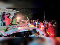 शादियों में डीजे का जलवा, बार बालाओं के साथ ठुमके भी सीवान,Siwan - Dainik Bhaskar