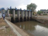 शाम 4 बजे लगाए गेट, पांच साल में दूसरी बार 17.51 एमसीए पानी रिजर्व रखा; मूंग फसल को लेकर किसानों की चिंता बढ़ी|होशंगाबाद,Hoshangabad - Dainik Bhaskar