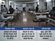 हमीदिया में तीन दिन में भरा 20 बिस्तर का म्यूकर वार्ड, नॉन म्यूकर 10 बेड में से 5 पर भी ब्लैक फंगस के मरीज भर्ती भोपाल,Bhopal - Dainik Bhaskar