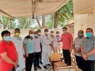 सीकर जिला केमिस्ट एसोसिएशन ने चिकित्सा विभाग के सहयोग के लिए एक हजार मेडिसिन किट दिए|सीकर,Sikar - Dainik Bhaskar