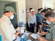 240 डोज 4 घंटे में खत्म, 18+ टीकाकरण रविवार से रायगढ़,Raigarh - Dainik Bhaskar