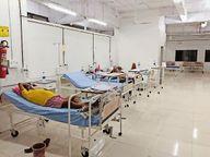 सभी अस्पतालों में फुल हैं ऑक्सीजन बेड, एजेंसियों पर नहीं मिल रहे सिलेंडर, सीएमएचओ कंट्रोल रूम फोन करो, तो जवाब मिलता है-क्या कर सकते हैं?|सीकर,Sikar - Dainik Bhaskar
