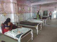 काेरोनाकाल में नहीं आ रहे बाल रोगी, एमजी हॉस्पिटल के शिशु वार्ड में सन्नाटा|बांसवाड़ा,Banswara - Dainik Bhaskar