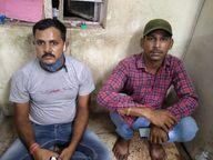 पटना में दो फर्जी सिपाही दुकानदारों से वसूलते थे 1000-1000 रुपए, तीन दिन ट्रैक कर पुलिस ने पकड़ा|पटना,Patna - Dainik Bhaskar