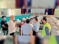 निजी कंपनियों द्वारा स्थापित 3 अस्थाई कोविड केयर सेंटरो का सीएम करेंगे उद्घाटन|गुरारू,Guraru - Dainik Bhaskar