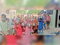 अलीगढ़ में पेयजल संकट, लोगों ने किया विरोध-प्रदर्शन|टोंक,Tonk - Dainik Bhaskar