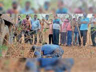 मालवाहक की चपेट में आने से मोपेड सवार बैंककर्मी की मौत|राजनांदगांव,Rajnandgaon - Dainik Bhaskar