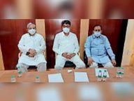 नगर परिषद वैक्सीन के लिए सीएम रिलीफ फंड में देगी 1 करोड़, शहर में चलाएंगे निशुल्क एंबुलेंस|सीकर,Sikar - Dainik Bhaskar