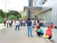 2 दिन में 10186 रेमडेसिविर मिले, डोज लगते ही 2 हजार मरीज डिस्चार्ज इंदौर,Indore - Dainik Bhaskar