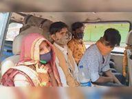 ब्यावरा से दुल्हन लेकर आ रहे ग्वालियर के दूल्हे पर गुना में 500 रु. का जुर्माना गुना,Guna - Dainik Bhaskar