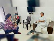 लॉकडाउन में कब्जाधारियों को निगम ने दिया नोटिस, कहा-दो दिन में छोड़ दो मकान नहीं तो पुलिस आएगी बिलासपुर,Bilaspur - Dainik Bhaskar