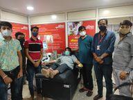 पहले ब्लड डोनेट कर तो अब प्लाज्मा देकर बचा रहे लोगों की जान, 20 लोग प्लाज्मा डोनेट कर 40 लोगों की बचा चुके हैं जान|टोंक,Tonk - Dainik Bhaskar