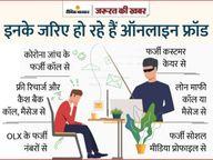 100 रुपए बचाने के लिए इंटरनेट से तलाशा कस्टमर केयर का नंबर, उधर से लिंक मिला और बात करते-करते खाते से कटे 63 हजार रुपए|ग्वालियर,Gwalior - Dainik Bhaskar