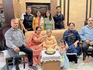 शहर के दो संयुक्त परिवारों की कहानी, तीन पीढ़ियों की एक ही रसोई रात को सत्संग के बाद साथ में करते हैं डिनर, बुजुर्ग का मार्गदर्शन सर्वोपरि|पठानकोट,Pathankot - Dainik Bhaskar