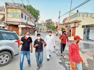 9 दिन में शहर का 50% हिस्सा सेनिटाइज किया, कांग्रेस के प्रत्याशी रहे रामनिवास राड़ा की टीम लगातार जुटी है|हिसार,Hisar - Dainik Bhaskar