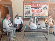 काेराेना पीड़ित व उनके परिवारों के लिए शुरू की सेवा रसाेई|महेंद्रगढ़,Mahendragarh - Dainik Bhaskar