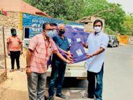 शहर में जरूरतमंदों को 8 लाख के निशुल्क कोविड सुरक्षा किट बांटेंगे युवा नेता आजादसिंह राठौड़|बाड़मेर,Barmer - Dainik Bhaskar
