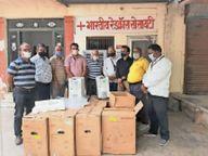 फिल्म निर्माता मनीष मूंदड़ा ने भेजे 12 ऑक्सीजन कंसंट्रेटर, लाेगाें काे निशुल्क उपयाेग के लिए देंगे|पाली,Pali - Dainik Bhaskar
