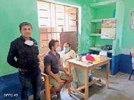 18-44 वर्ष और 45 से अधिक उम्र वालों को लगा टीका|सुपौल,Supaul - Dainik Bhaskar