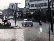 देर शाम तेज हवा के साथ हुई बारिश से राहत; आज से बदलेगा मौसम, बढ़ेगी गर्मी|रांची,Ranchi - Dainik Bhaskar