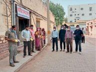 सीएचसी, कोविड सेंटर पर बढ़ाए बेड, जेएलएन से 16 व पुराने अस्पताल में 17 मरीज ठीक होकर लौटे|नागौर,Nagaur - Dainik Bhaskar