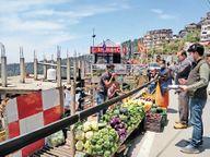 शहर की 5 जगहों पर निरीक्षण, ज्यादा दाम वसूलने पर 2.96 किलाे फल-सब्जी जब्त|शिमला,Shimla - Dainik Bhaskar