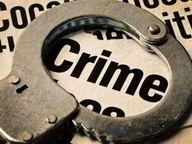 सेल्समैन गया था घर, रात को ठेके का शटर तोड़ 20 पेटी ले गए चोर|रोहतक,Rohtak - Dainik Bhaskar