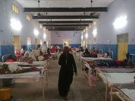 156 नए पॉजिटिव मिले, 3 की मौत, एक्टिव संक्रमितों की संख्या 2079 पहुंची, कुल संक्रमितों की संख्या बढ़ कर हुई 16183 राजस्थान,Rajasthan - Dainik Bhaskar