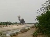एक को किया डिफ्यूज तो कुछ देर बाद एक और बमनुमा वस्तु दिखाई दी, गांव वाले लौटते विशेषज्ञों को बुलाए, सेना के आयुध डिपो में लगी आग के दौरान मोर्टार गिरने का अनुमान श्रीगंंगानगर,Sriganganagar - Dainik Bhaskar