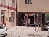 रोगियों का बढ़ता दबाव, ऑक्सीजन का संकट, पोस्ट ओटी वार्ड के बैड कोविड में लगाए|श्रीगंंगानगर,Sriganganagar - Dainik Bhaskar
