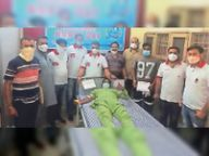 नर्सिंग-डे को समर्पित रक्तदान कैंप, 45 यूनिट एकत्रित|कपूरथला,Kapurthala - Dainik Bhaskar