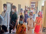 ग्रामीण क्षेत्र में कोरोना वैक्सीन लगाने के लिए अपार उत्साह दौसा,Dausa - Dainik Bhaskar