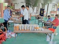 रोजाना 85 कोरोना संक्रमित परिवाराें काे सुबह-शाम पहुंच रही लायंस थाली|चित्तौड़गढ़,Chittorgarh - Dainik Bhaskar