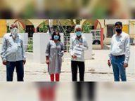 ग्राम विकास अधिकारी संघ ने दिया ज्ञापन|चित्तौड़गढ़,Chittorgarh - Dainik Bhaskar