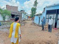मैडम... अभी गांव में बाहरी लोगों के प्रवेश पर रोक है, स्थिति सामान्य होगी तो आपका जोरदार स्वागत करेंगे|विदिशा,Vidisha - Dainik Bhaskar