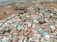 डेढ़ महीने में 20 लोगों की मौत से पूरा गांधवा गांव हो गया होम क्वारेंटाइन खंडवा,Khandwa - Dainik Bhaskar