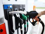 पेट्रोल 26 और डीजल 29 पैसे फिर महंगा हुआ|जयपुर,Jaipur - Dainik Bhaskar