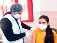 मप्र में 55 लाख लाेगाें काे चाहिए दूसरी डाेज, जबकि पूरे मई हर दिन सिर्फ एक लाख को लगेगी वैक्सीन|भोपाल,Bhopal - Dainik Bhaskar
