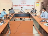 अस्पताल के 15-15 बेड ऑक्सीजन से किए जाएंगे लिंक|अशोकनगर,Ashoknagar - Dainik Bhaskar